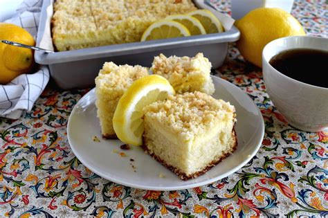 Added to all that lemon flavor is a good dose of cream cheese. Lemon Cream Cheese Coffee Cake is extra lemony, with a ...
