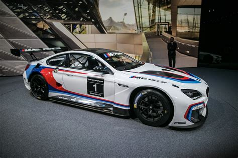 Bmw M6 Gt3 Bows With Bmw Motorsport Racing Livery