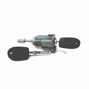Volkswagen Golf Door Lock Cylinder  Coded  Side  Front