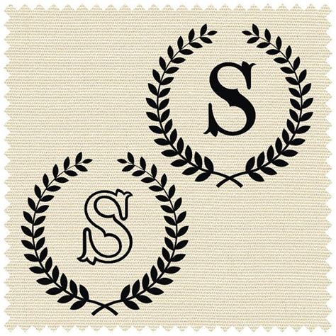 letter   laurel wreath svg clipart initial svg cricut elegant logo cameo monogram font svg