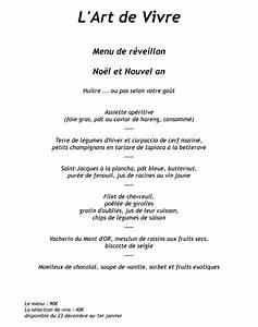 Eragny Art De Vivre : menus de f tes 2016 pour l 39 art de vivre restaurant ~ Dailycaller-alerts.com Idées de Décoration