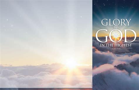 glory  god bulletin church bulletins outreach marketing