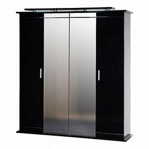 Kleiderschrank Mit Beleuchtung : kleiderschrank java schwarz hochglanz ausf hrung mit beleuchtung ~ Sanjose-hotels-ca.com Haus und Dekorationen