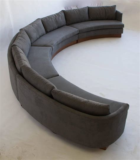 north carolina sectional sofas custom semi circular sectional by carson 39 s of north