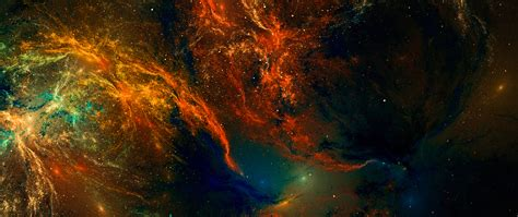 colorful artistic nebula  space star full hd wallpaper