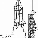 Nasa Space Coloring Center Shuttle Pages Rocket Drawing Launched Clipart Simple Printable Detailed Lego Template Moon Cartoon Sketch Getcoloringpages Panda sketch template