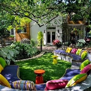 Gartengestaltung Unter Bäumen : 122 bilder zur gartengestaltung stilvolle gartenideen f r sie ~ Yasmunasinghe.com Haus und Dekorationen
