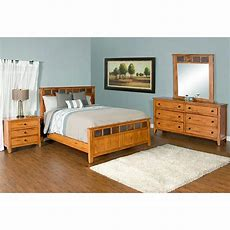 Rustic Oak & Slate Collection  Rustic Oak Sedonabedroom
