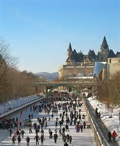 Canal Rideau Skating by Five Famous Outdoor Ice Rinks Around The World Hoodaki