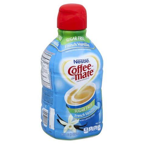 Product title nestle coffee mate vanilla caramel sugar free powder coffee creamer 10.2 oz 10.2 oz. Nestlé Coffee Mate French Vanilla Sugar Free Liquid Coffee Creamer (64 fl oz) from FoodMaxx ...
