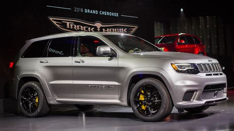 100 Jeep Trackhawk Back The 707 Hp Jeep Grand