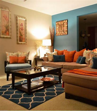 Brown Living Teal Vibrant