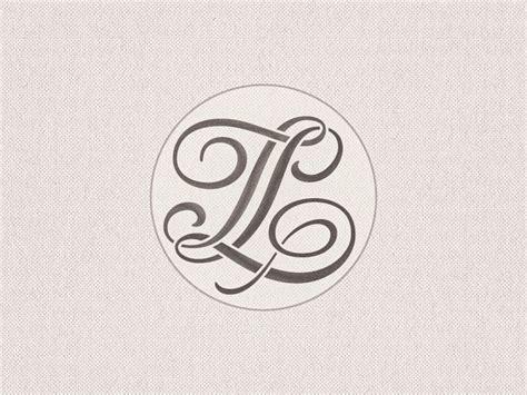 stencilled tl monogram monogram design web graphic design monogram
