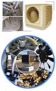 Humidity Control Air Cooler Wall Mounted Evaporative Air
