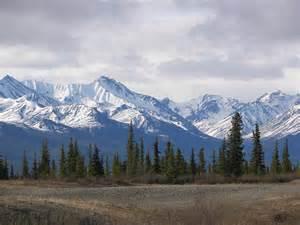 Alaska Pretty Mountain
