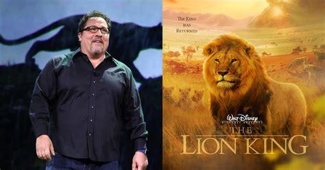 jon favreau the lion king another disney remake for jon favreau sharetv