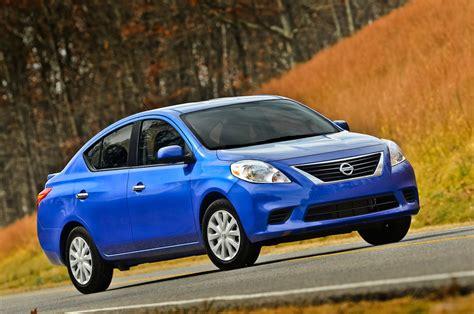 Nissan Versa : 2013 Nissan Versa Reviews And Rating