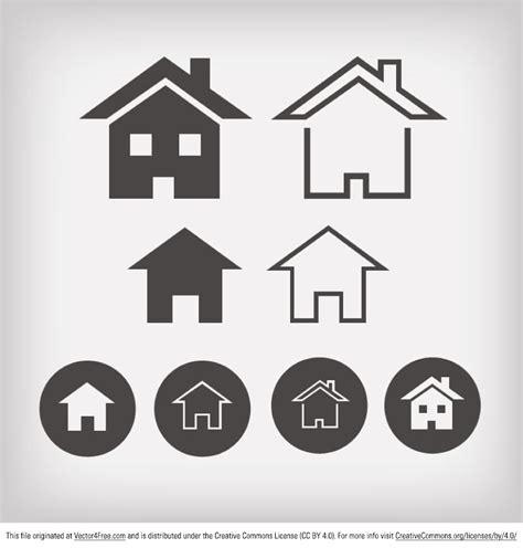 vector home icon designs