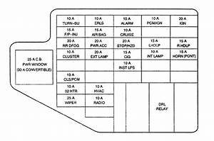 Chevy Cavalier 1998 Fuse Box Diagram My Dash Lights And Tail Lights Are Probably Because Of A