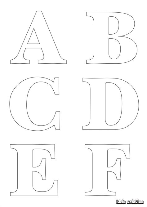 molde de letras para imprimir alfabeto completo fonte vazada ideia criativa atividades pedag 243 gicas
