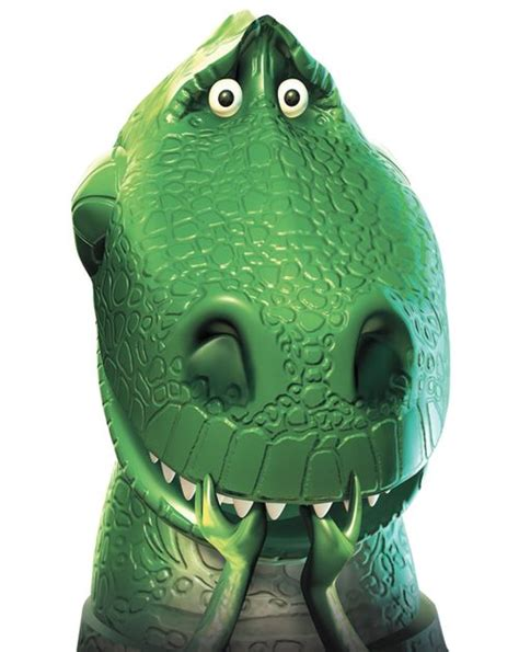 rex  favorite toy story character cartoon world