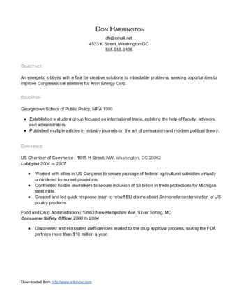 how to make your resume roar results oriented and relevant with sle resume