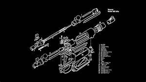Hd Wallpaper  Equipment Blueprint  Gun  Exploded