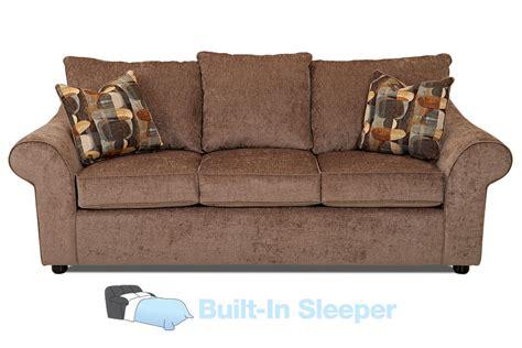 Bayside Chenille Queen Sleeper Sofa At Gardner White