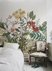 les 25 meilleures idees de la categorie papier peint With chambre bébé design avec noeud papillon a fleur
