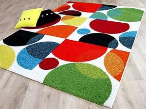Teppich Bunt Modern : designer teppich funky modern bunt ebay ~ Frokenaadalensverden.com Haus und Dekorationen