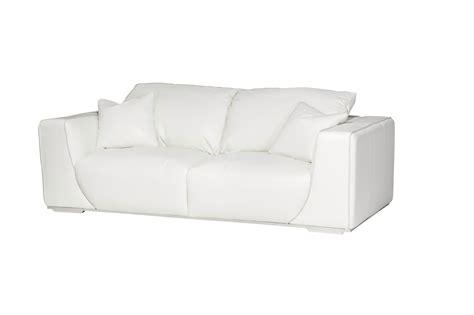 Michael Amini Mia Bella Sophia White Leather Modern Luxury