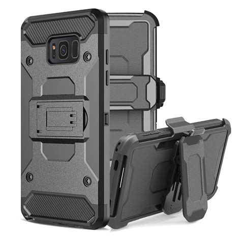 for samsung galaxy s8 steel cl guluguru heavy duty advanced armor belt clip holster with