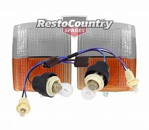 Holden Wb Park  Indicator Loom  Lenses Restored Plugs  New Wiring Statesman Ute