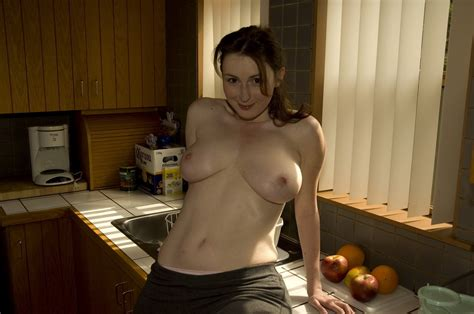 Natural Large Boobs Wife Wants Sex In The Kitchen 12657