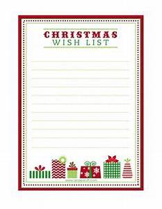 Free Printable Christmas Wish List For Kids & Adults