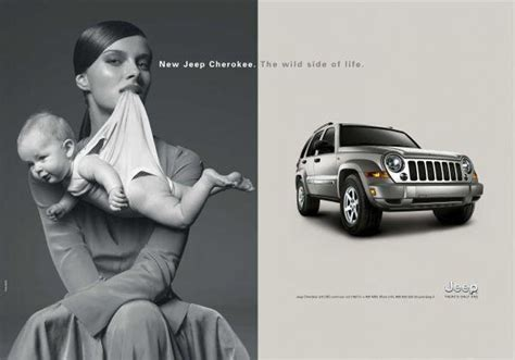 jeep cherokee ads jeep cherokee 2 8 crd quot mother quot print ad by pentamark
