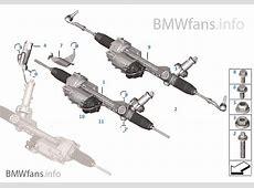 Electrical steering BMW 3' F30 328i N26 USA