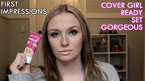 First Impression Review  Covergirl Ready Set Gorgeous