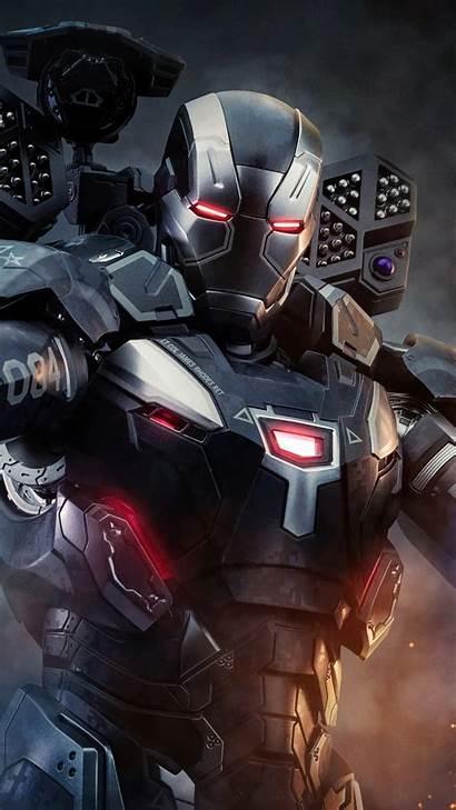 War Machine 4k Iphone Marvel Wallpapers Iron