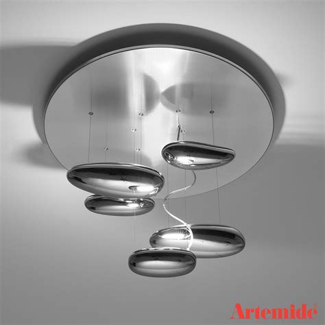 mercury mini ceiling light artemide metropolitandecor