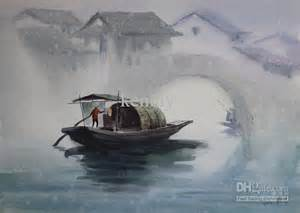 Watercolor Painting Water