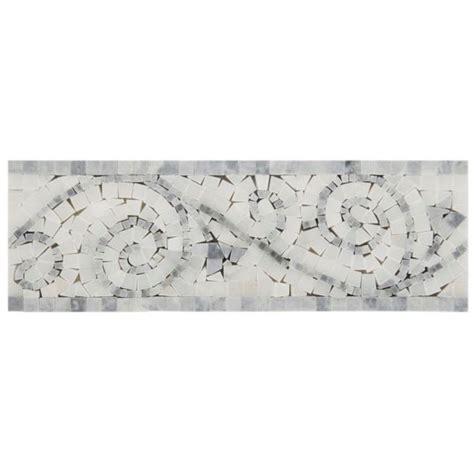 carrara polished 4 quot x 12 quot bardiglio white rimini marble