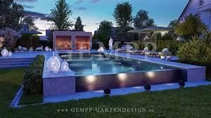 Gartengestaltung Mit Pool : gartenplanung gartenarchitektur gempp gartendesign ~ A.2002-acura-tl-radio.info Haus und Dekorationen