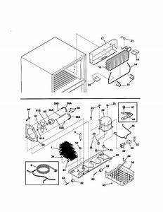 System Diagram  U0026 Parts List For Model 25331629101 Kenmore