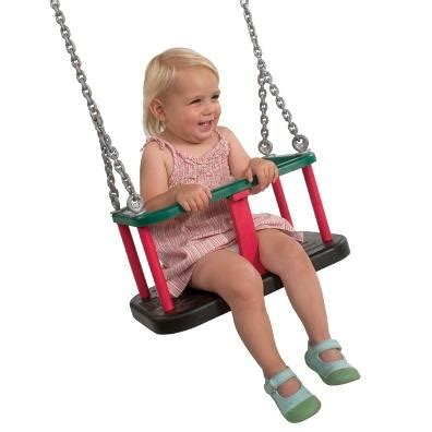 Langley Swing by Langley Rubber Toddler Seat With Chains Garden Swings