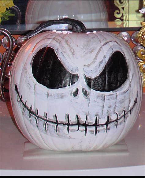 cool painted pumpkins jack skellington painted pumpkin this is halloween pinterest