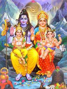 lord shiva parvati family | altar | faith | Pinterest ...