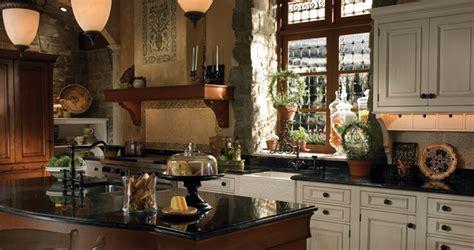 Grand Villa   European style cabinets   Wood Mode