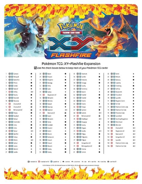 Tcg Deck Lists by File Cardlist En Tcg Xy Flashfire Pdf Pidgiwiki