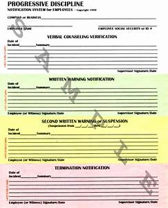 business forms progressive discipline form system With progressive discipline template